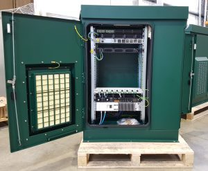 Fully integrated IP65 cabinet